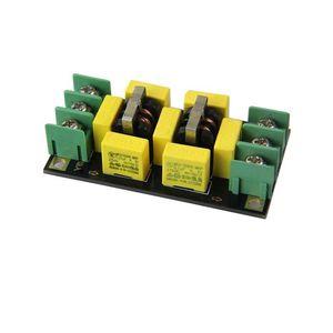 Image 4 - Плата фильтра источника питания переменного тока 110 В, 220 В, 4A, фильтр EMI, ограничитель шума, очиститель звука усилитель, очиститель шума, фильтрация