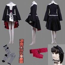 The Melancholy of Haruhi Suzumiya Suzumiya Haruhi no Yuuutsu Yuki Nagato LOLITA dress Cosplay Costume