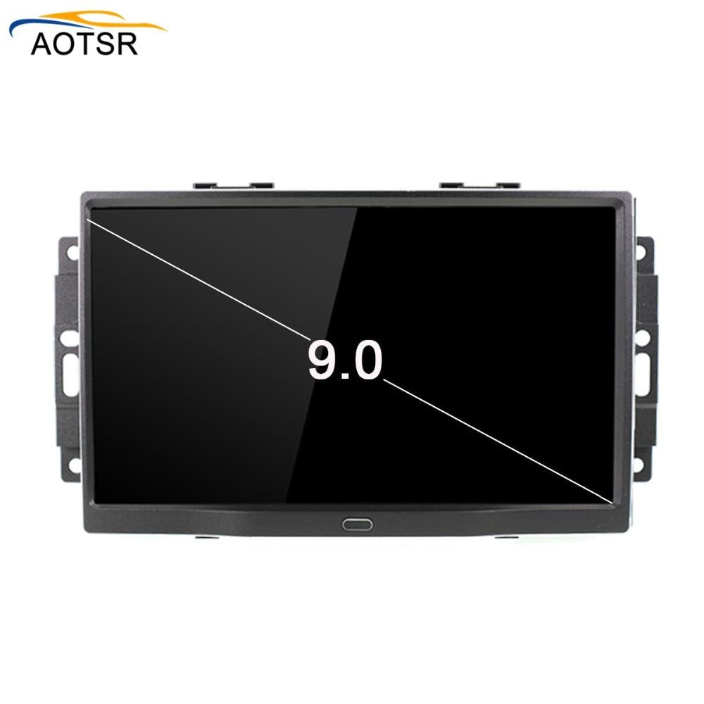 Reprodutor de dvd do carro de android 8.1 para a unidade principal do sistema de navegação bt wifi do jogador dos multimédios do rádio do automóvel do carro de chrysler 300c 2004-2008