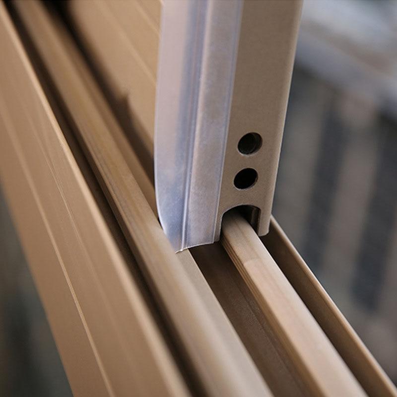 Burlete transparente Simple burlete Stopper Frameless ventana puertas correderas juntas goma silicona polvo insecto puerta tira 5M