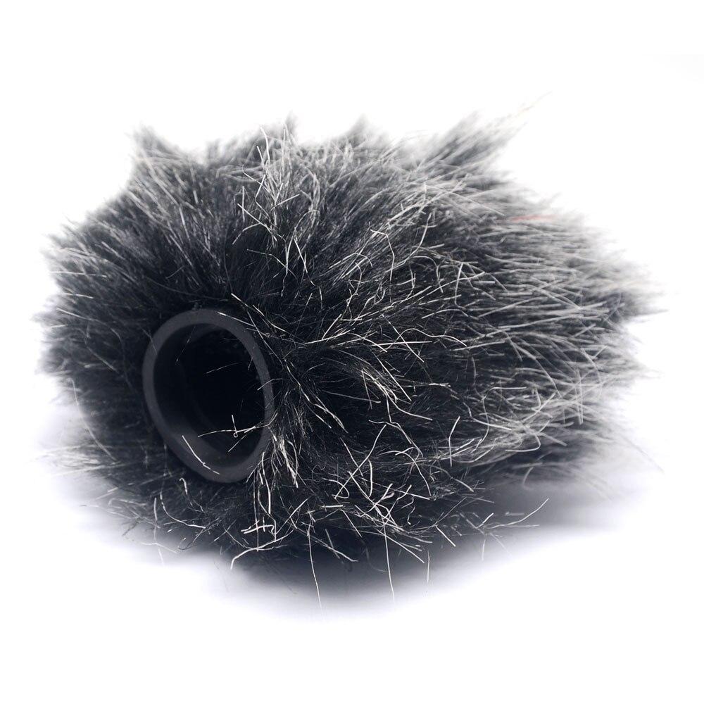 Mcoplus HN-49 micrófono profesional cubierta de viento peludo para video de RODE y micrófono VideoMic Me