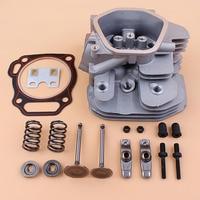 Cylinder Head Valve Rocker Arm Kit For Honda GX340 GX390 Chinese 188F 182F 11/13HP 5~6.5KW Gas Motor Generator 12200-ZF6-406