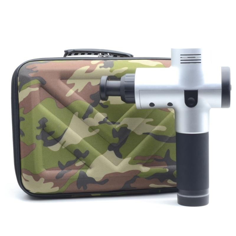 Funda portátil de transporte a prueba de agua para pistola de masaje Hyperice Hypervolt 5 ranuras caja de almacenamiento de viaje a prueba de arañazos Anti golpes