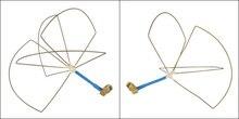 1.2G Mushroom Omni TX/RX Antenna Set for FPV 1.2Ghz Clover Circular Polarization Antenna Set.High Quality Hand Made All Of 1.2 G