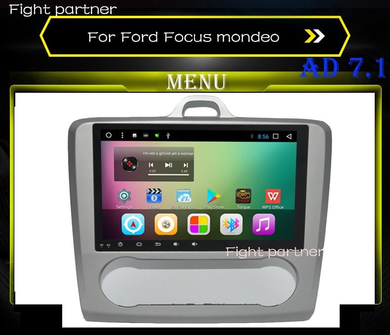 Dvd Multimedia para coche a precio de fábrica para Ford Focus 2 2004-2011 Mondeo Galaxy s-max smax Kuga c-max gps navegación por WiFi rds