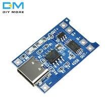 5 pièces 5V 1A type-c USB 18650 TC4056A chargeur de batterie au Lithium Module de charge avec Protection double fonctions 1A Li-ion conseil
