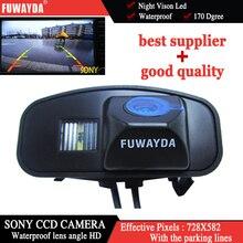 FUWAYDA SONY CCD caméra de vue arrière Vision nocturne aide au stationnement de nuit style de voiture pour Honda CRV CR-V Odyssey ajustement Jazz Elysion