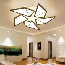Nouveau moulin à vent plafonnier salon restaurant correspondant mode éclairage à la maison LED moderne simple plafonniers AC110-240V
