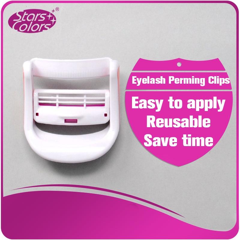 1 piece Reuseable Eyelash Perming Clips Eyelashes perm Curler Pads Patches Lashline Eye lash Curler