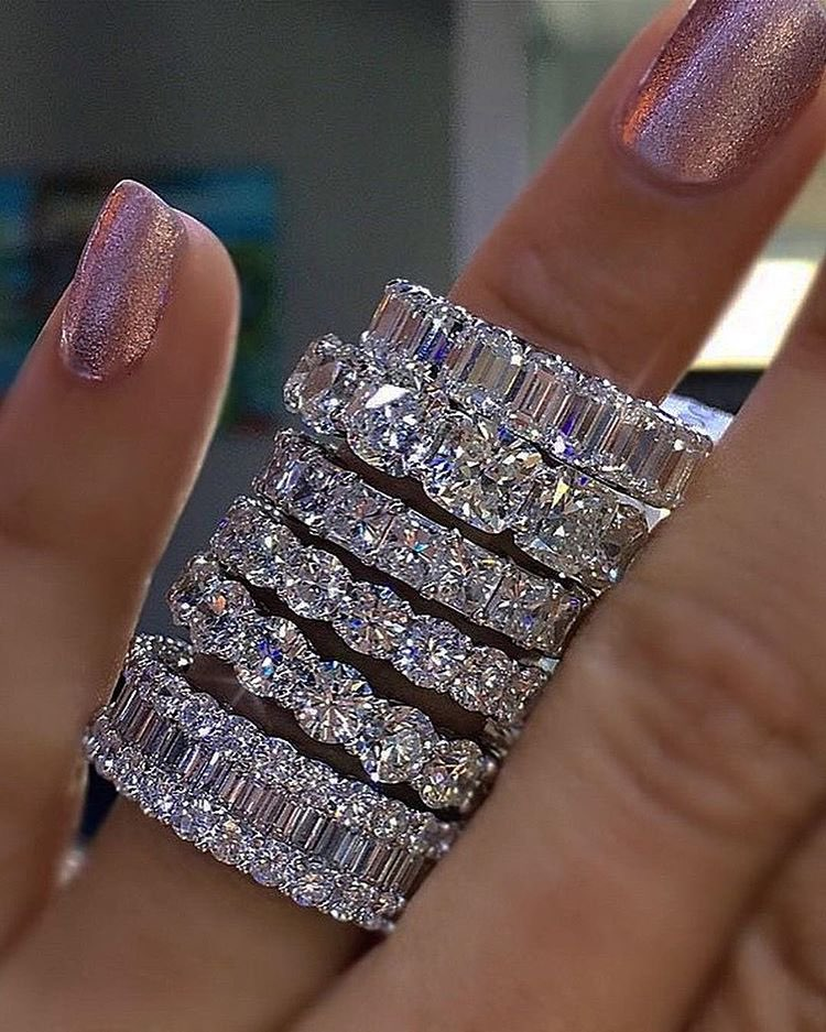 Обручальные кольца из стерлингового серебра 925 пробы с квадратным искусственным бриллиантом CZ, обручальные кольца из камня, Размер 5,6,7,8,9,10,11...