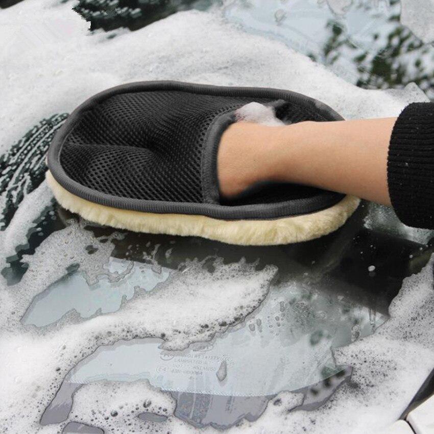1 шт. чистящие перчатки из микрофибры для автомобиля renault megane 3 volkswagen polo 6r audi a1 skoda nissan qashqai j10 golf 5 Аксессуары