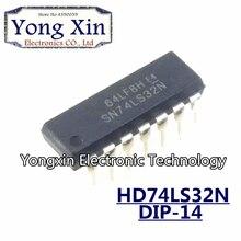 10 PIÈCES HD74LS32P DIP14 HD74LS32 DIP SN74LS32N 74LS32