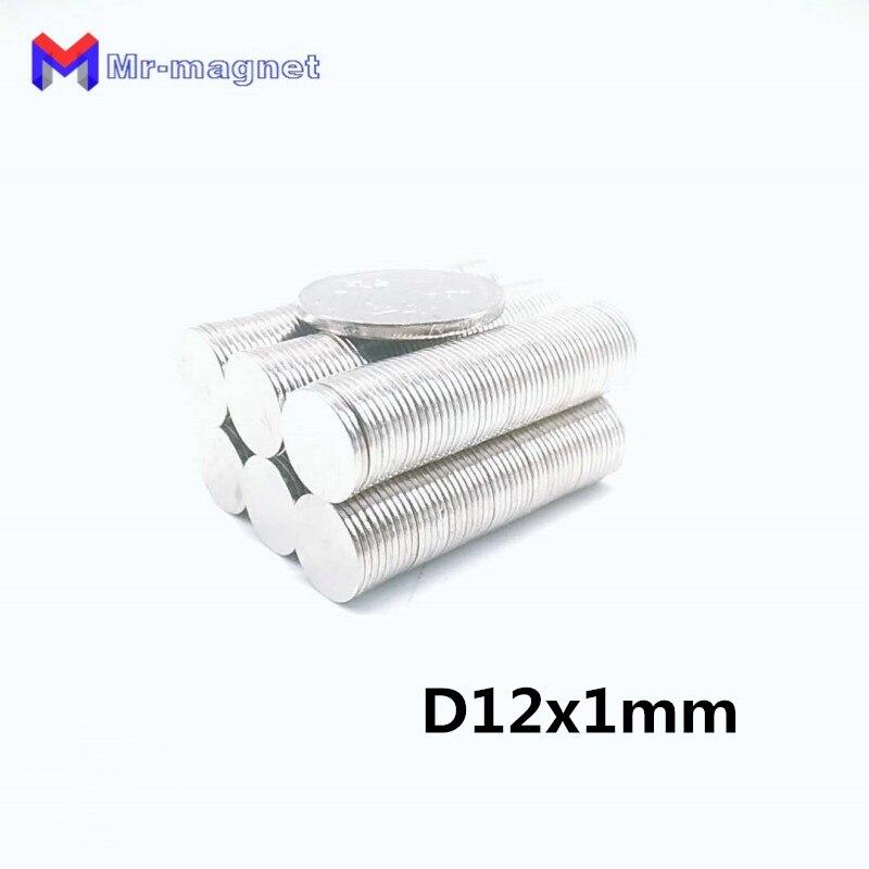 Aimant N35 D12x1mm 12x1   1000 pièces, 12x1 12x1 12x1, aimants permanents N35 D12x1mm, 12x1