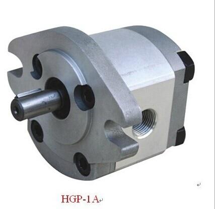 250bar الضغط مضخة هيدروليكية بمحرك HGP-1A-F5R عقارب الساعة turnning