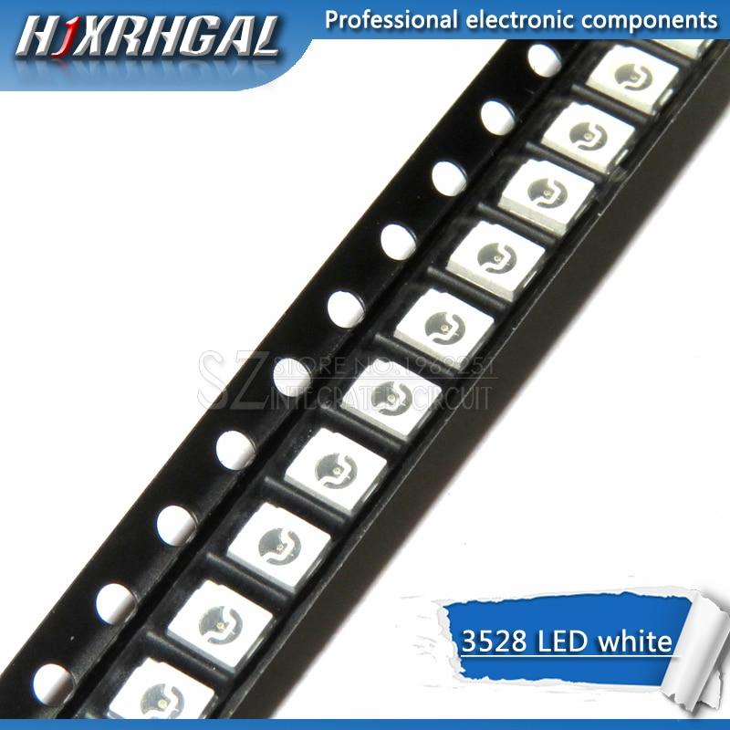 100 sztuk biały 3528 1210 diody led smd światło nowe i oryginalne hjxrhgal