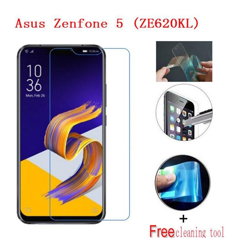 2PCS Ultra-thin Nano-proof membrane film Screen Protector for ASUS ZenFone 5 lite 5Q 5Z ZE620KL ZC600KL [NOT Tempered GLASS]