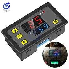 AC 110V 220V DC 12V Digitale Zeit Verzögerung Relais Led-anzeige Zyklus Timer Control Schalter Einstellbar Timing relais Zeit Verzögerung Schalter