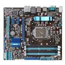 For ASUS P7H55-M original P55 motherboard DDR3 LGA 1156 Support I3 I5 cpu 16GB USB2.0 VGA HDMI H55 uATX Desktop motherborad