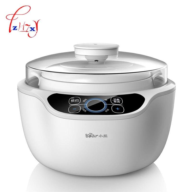 التلقائي عصيدة وعاء 1.2L المواقد الكهربائية بطيئة طباخ 220 V البسيطة خزفي طباخ الكهربائية مواقد DDZ-A12A1 1 pc