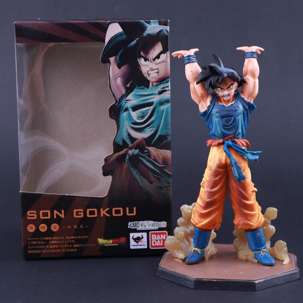 Web Tamashii Figuarts de Zero Anime Japonês Dragon Ball Z Son Goku Son Goku damaSpirit Bomba Figura de Ação Figuras Colecionáveis