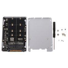 New U2BOX U2 Box M.2 TO U.2 SFF-8639 Adapter PCIe 2.5 U.2 SSD PCI-E X4 X16 intel PCIe3.0 PCI-Express M-KEY B-Key Card C26
