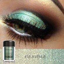 FOCALLURE 18 colors Glitter Green Eyeshadow powder easy to wear shimmer eyeshadow professional  women beauty eyes shadow