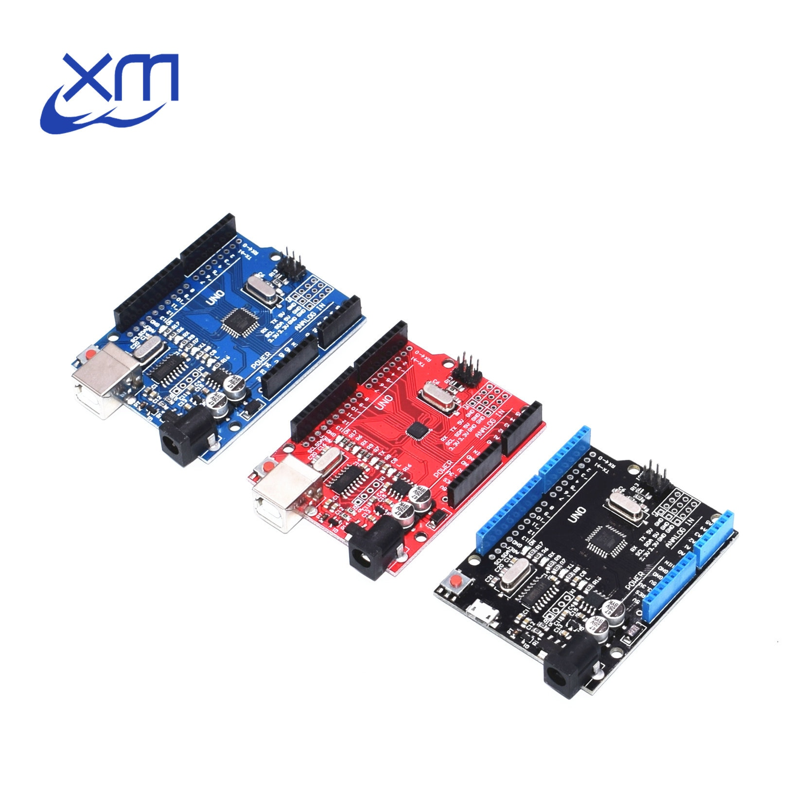 Un conjunto UNO R3 CH340G + MEGA328P ATMEGA16U2 USB cable USB 2,4 TFT LCD de pantalla de Chip 16Mhz UNO R3 boad UNO Proto escudo para Arduino