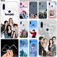 Riverdale South Side Serpents coque souple en Silicone pour Xiaomi Redmi K20 7 7A 5 5Plus 6 6A S2 Note 8 7 6 5 Pro Cover