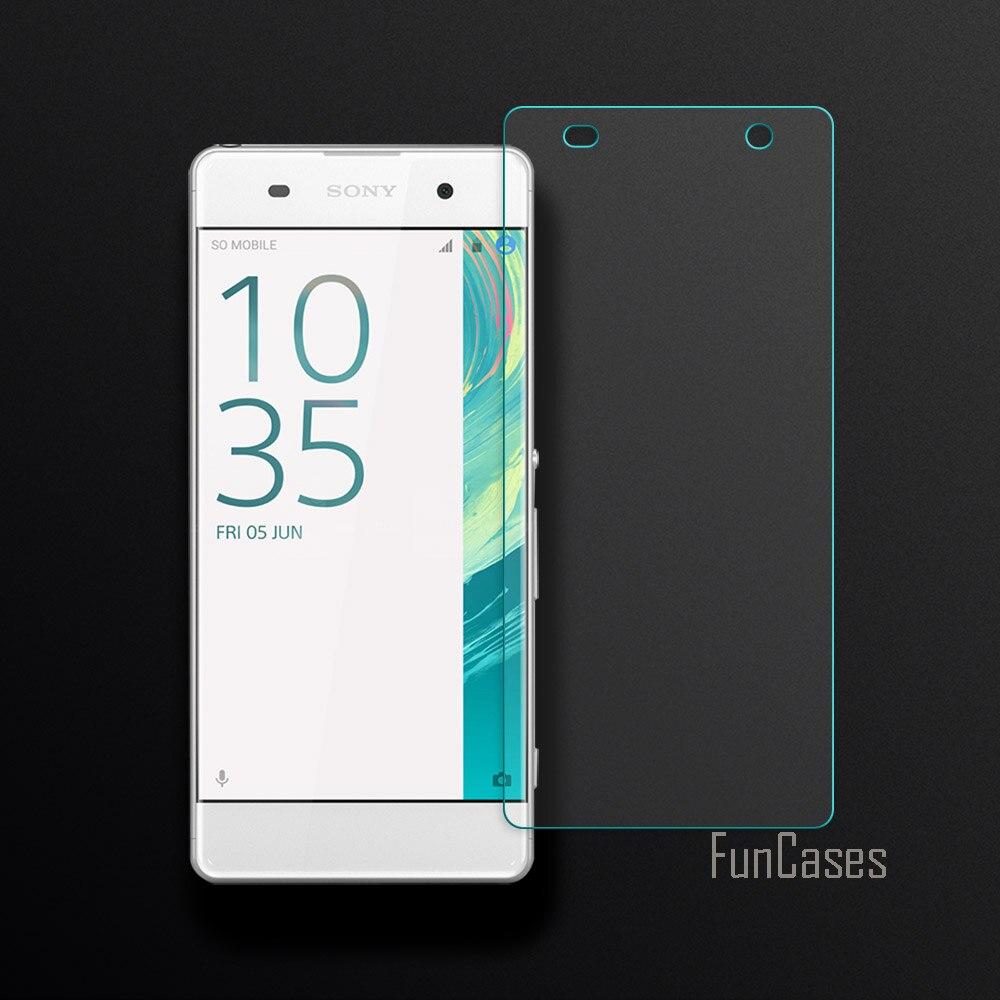 Pantalla de borde curvado 2.5D para Sony Xperia XA vidrio templado para...