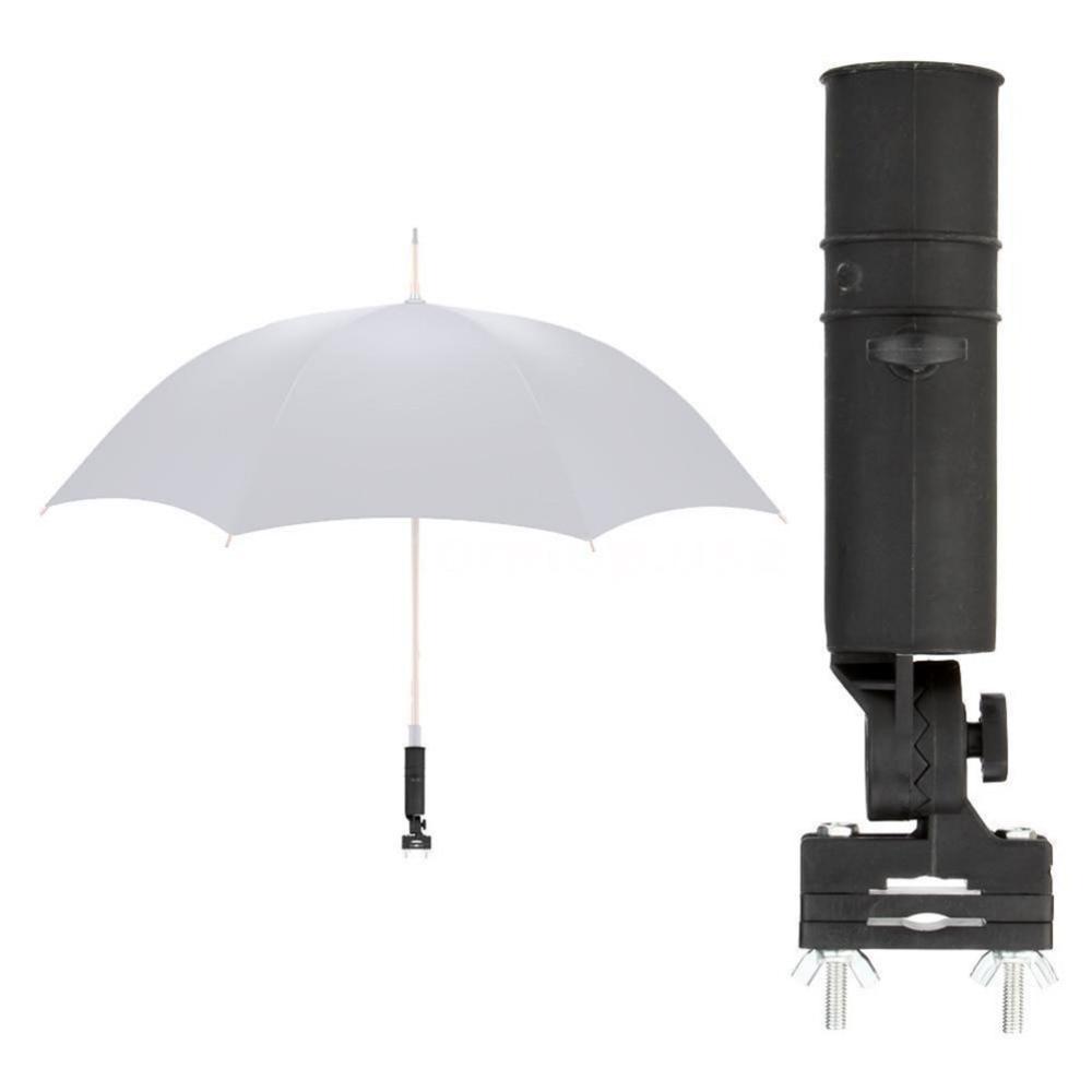 1 Set Durable Golf Club Umbrella Holder Stand For Bike Buggy Cart Baby Pram Wheelchair Drop Shipping