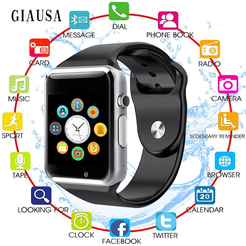 Reloj inteligente GIAUSA para niños, niños, bebé, 2G, tarjeta Sim, reloj de llamada, teléfono, pantalla táctil, reloj inteligente impermeable, relojes inteligentes