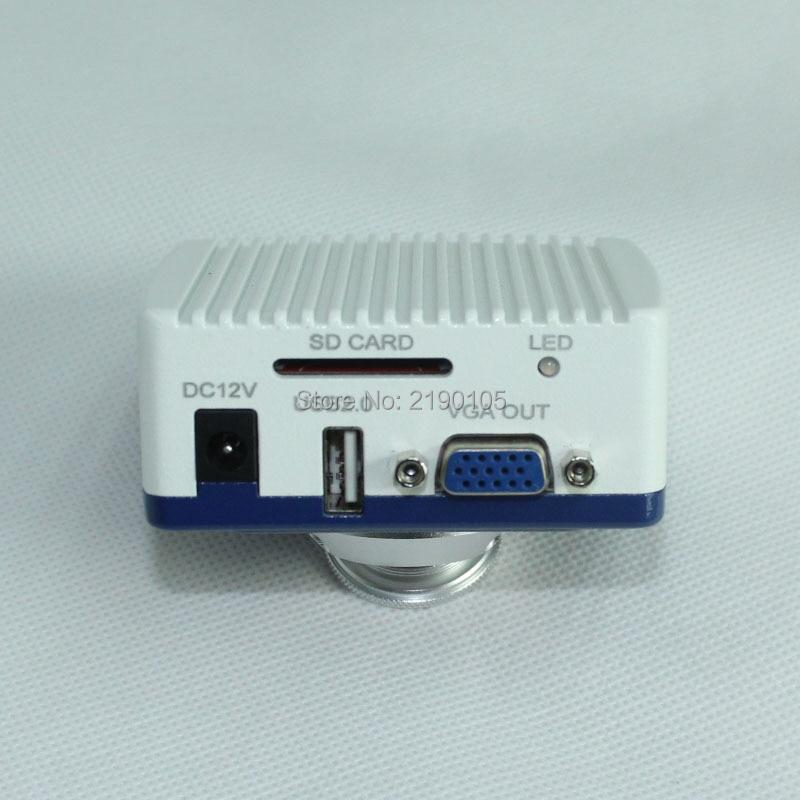 ¡Envío gratis! Cámara microscópica Digital Industrial HD 1080P VGA soporte de almacenamiento de tarjeta SD cinta de cámara operación de ratón