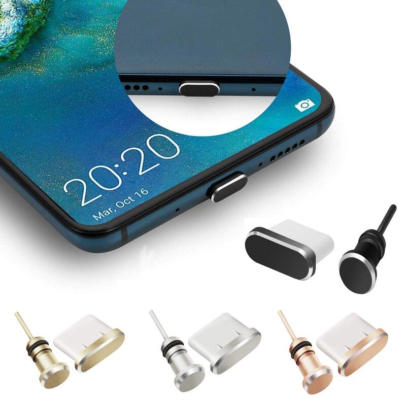 Тип C Мобильный телефон Аксессуары пылезащитный Разъем гаджеты зарядный порт USB C для Samsung S10 S9 S8 Note 8 9 Huawei P10 P20 P30 Pro-5