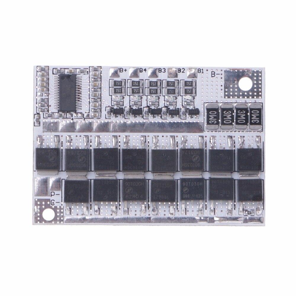 12V 100A 5S BMS Li-Ion LMO Ternary литиевая батарея защита монтажная плата интегральные схемы Прямая поставка