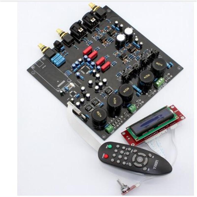 AK4497EQ + AK4118 DAC single chip decoder board ( Support DOP DSD)