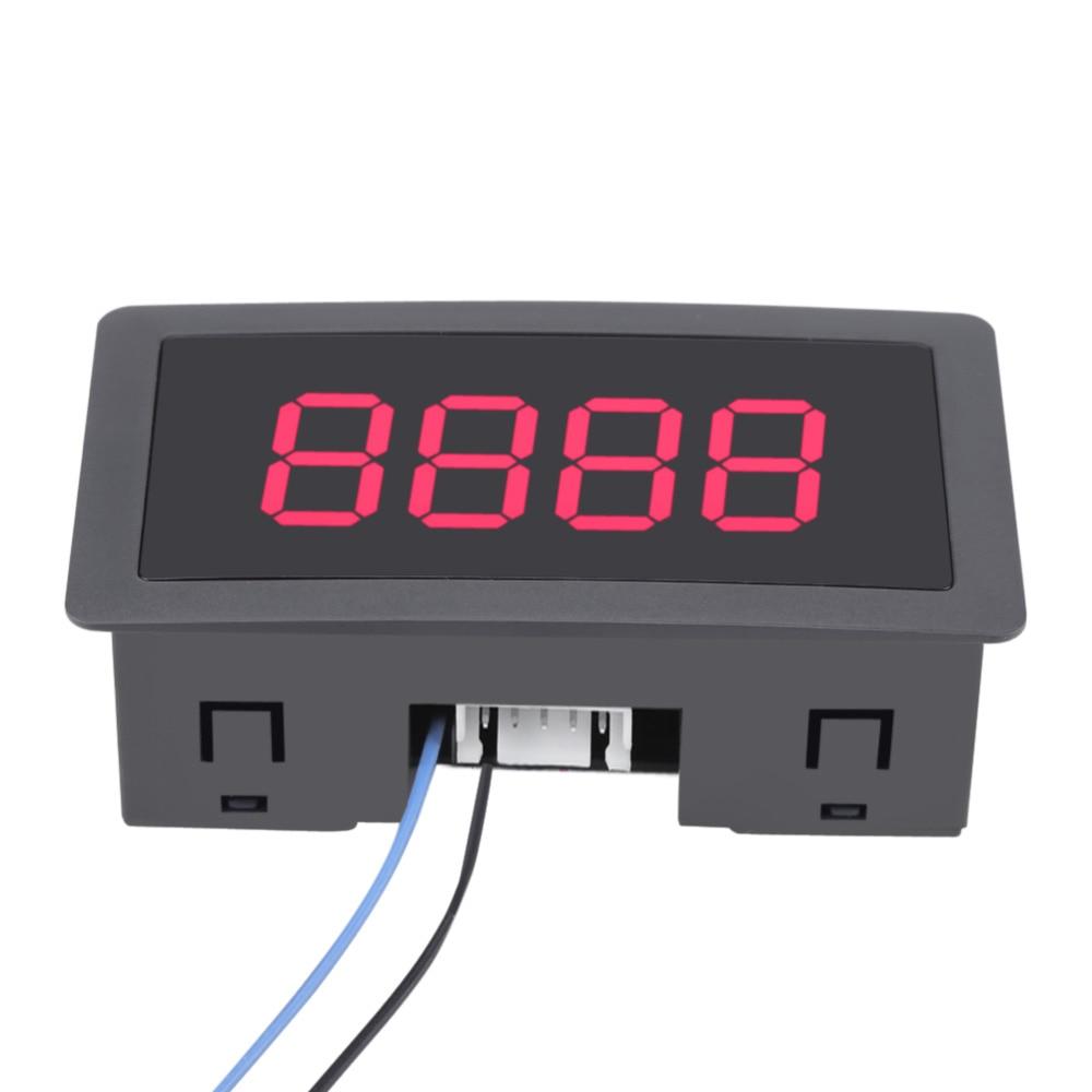 DC LED Digital Display 4 Digit 0-9999 Up/Down Plus/Minus Panel Counter Meter