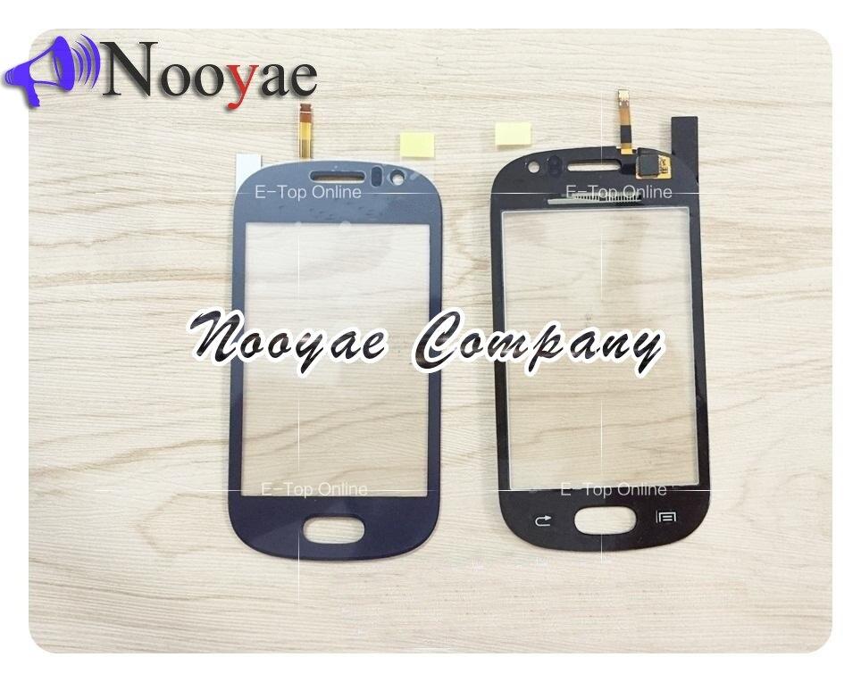 PANTALLA DE sensor negro/Blanco/azul para Samsung Galaxy Fame S6810 Digitalizador de pantalla táctil con + seguimiento