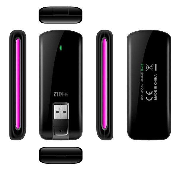 مودم ZTE MF820 /MF820D 4G LTE ، مفتوح ، 100 ميجابت في الثانية ، PK huawei E398 ، wi-fi ، لاسلكي ، مفتوح ، نطاق LTE (1800/2100/2600)