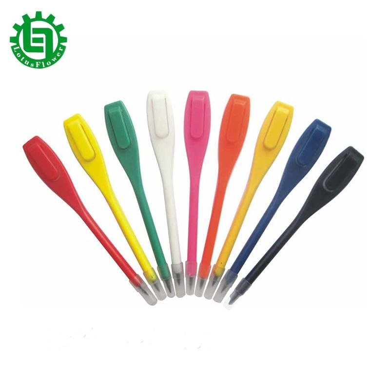 Pluma de Golf de plástico 20 piezas Clip de lápiz tarjeta de puntuación accesorio para golfistas herramienta de grabación de puntuación pluma de Golf precio al por mayor