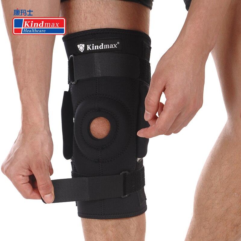 Para cuidado de la salud Kindmax fortalecer la rodilla hombres apoyo de fútbol, baloncesto voleibol rodilleras Protector