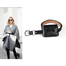ABDB PU cuir taille Packs Fanny Pack ceinture sac téléphone pochette sacs voyage taille Pack femmes petite taille sac en cuir enveloppe pochette