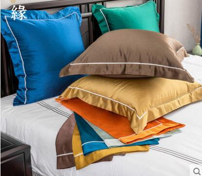 Nueva funda de cojín china de 60x60, funda de almohada de color sólido para cabecera de dormitorio, funda de cojín de casa modelo