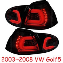 4 Uds estilo de coche Golf5 luces de cola para 2005, 2006, 2007, 2008 Golf5 luces traseras luces de luz trasera LED lámpara trasera Golf 5