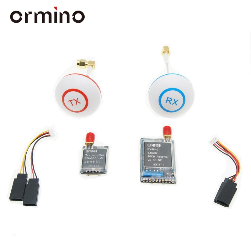 Ormino 5.8G 600mw Transmitter antenna Quadcopter Parts 5.8ghz Fpv System Combo Diy RC Drones Accesso