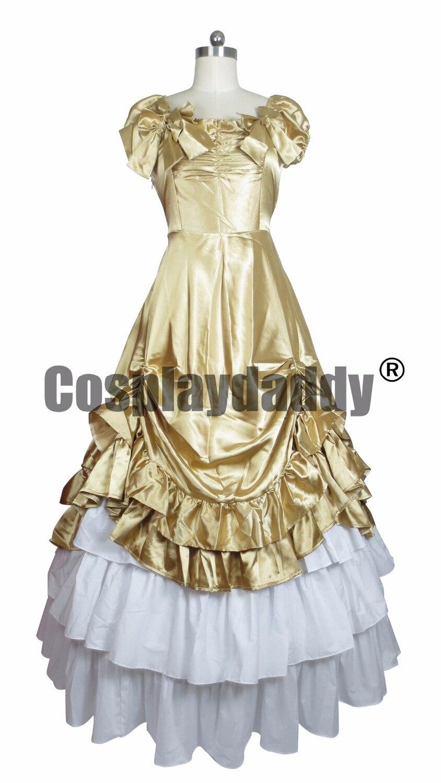 Belle do sul vestido de Cetim Lolitta Ball Gown Prom Dress H008