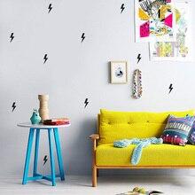 Superhero lightning Wall Sticker For Kids Room Baby Boy Room Wall Decor Kids room Home Decor Wallpaper Vinyl Kids Wall Sticker
