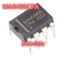 100 PIÈCES MAX485CPA DIP8 MAX485 DIP 485CPA DIP-8 nouveau et original