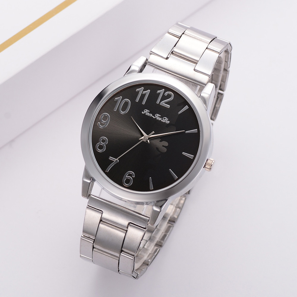 Moda casual amantes meninas meninos senhoras relógios de quartzo metal novo pequeno dial magia feminino relógio de pulso feminino 2019 relógios femininos