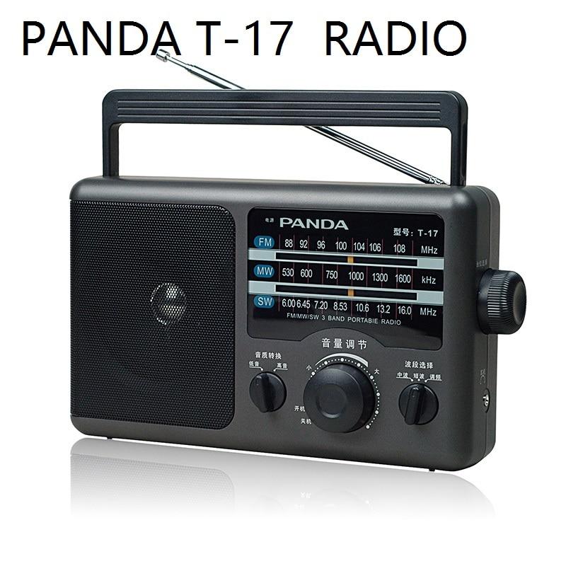 PANDA T-16 / T-17 portable three band analog tuner with  large volume RADIO