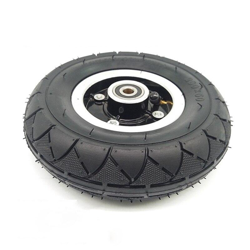Scooter Eléctrico de 8 pulgadas de neumático de tubo interior neumático conjunto de ruedas neumáticas de 8 pulgadas con cojinete de cubo de rueda 1 Uds